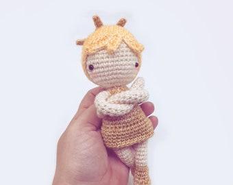 Amigurumi doll pattern Estrella Mini, Crochet Angel • Cute kawaii christmas gift, for beginners, Instant Pdf - by POLARIPOP
