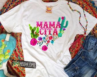 dbfdd8ebc5f MAMACITA • womens graphic tee • short sleeve shirt • missmudpie • western  shirt • mexican mother • mothers day shirt - new mom shirt