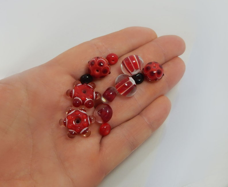 Earring Pairs,Jewelry Set,Supplies Beads For Earrings Handmade Lampwork Beads Set For Earrings
