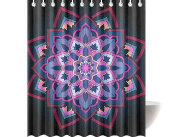 Mod Mandala Shower Curtain