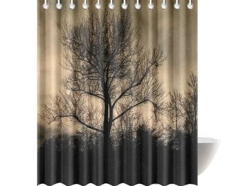 Bomen bad gordijn etsy