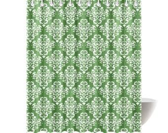 Irish Damask Shower Curtain