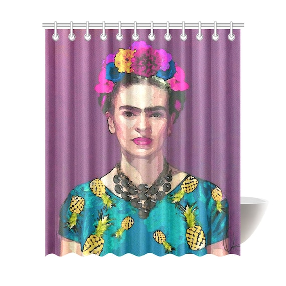 Frida Kahlo Shower Curtain 7 Sizes To Choose From Includes