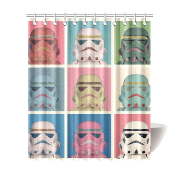 Lego Darth Vader Shower Curtain 7 Sizes To Choose From