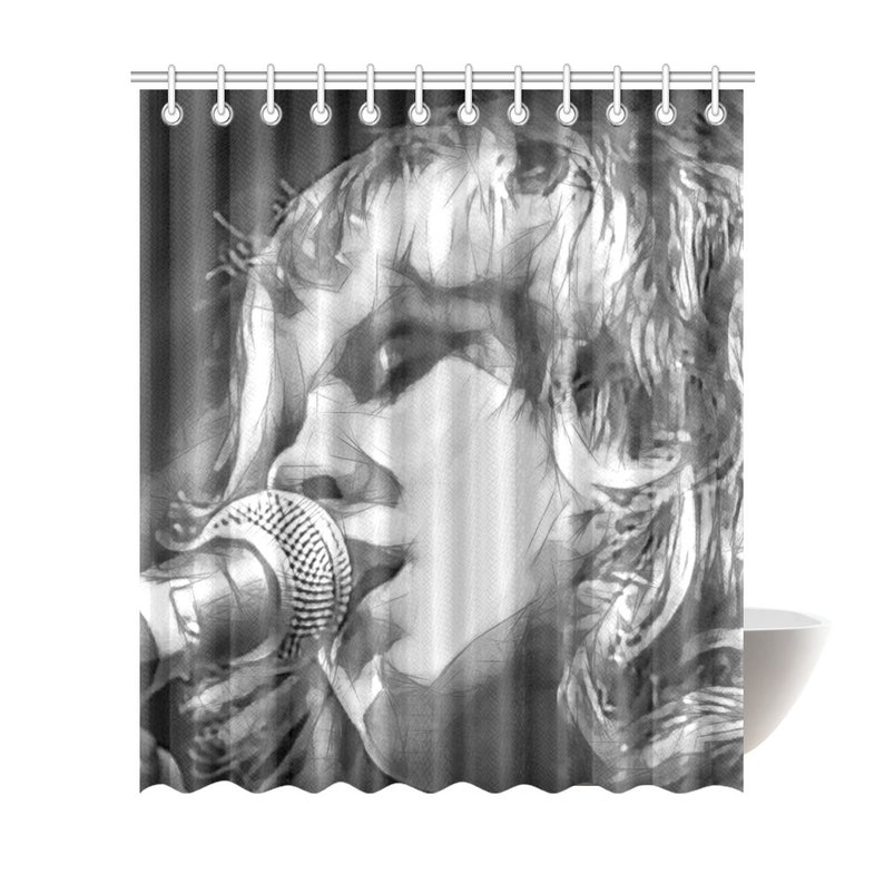 Stevie Nicks Shower Curtain 6 Sizes To Choose From