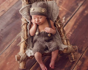SALE   Newborn photo prop,newborn hat,newborn outfit,newborn boy take home outfit,newborn pants,newborn pants set,newborn boy, newborn props