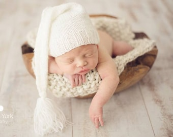 20% off SALE  Newborn photo prop, newborn hat, newborn boy, knit newborn hat, newborn prop, newborn boy prop, newborn props, newborn elf hat