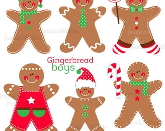 Gingerbread Boys Cute Digital Clipart - Gingerbread Cilp art 98afd02dd