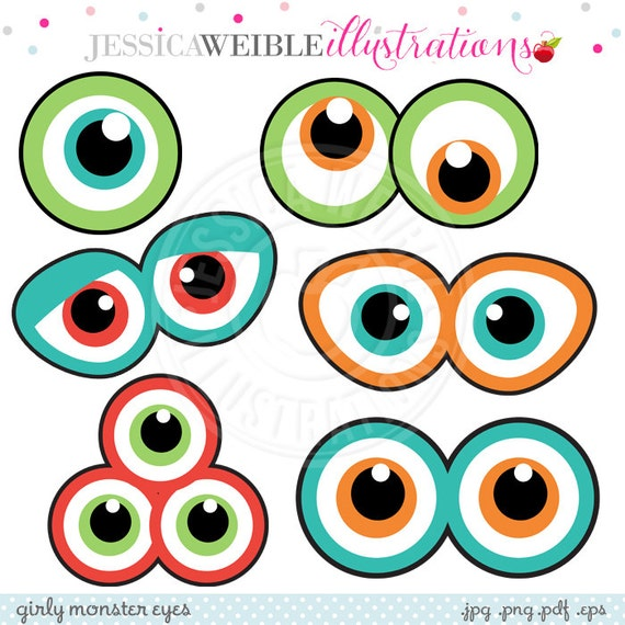 image about Printable Eyes known as Monster Eyes Lovable Printable Birthday Occasion Favors