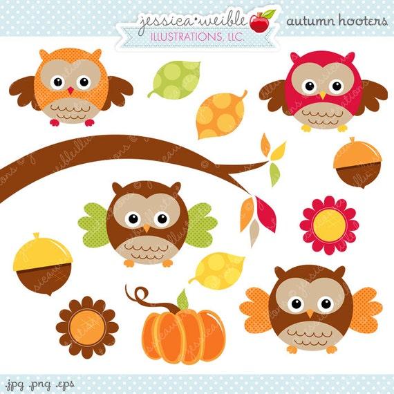 cacb51bd7c729e autumn hooters cute digital clipart commercial use ok owl graphics clip