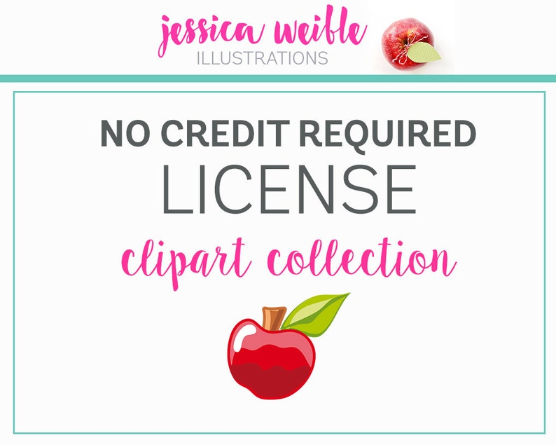 Commercial Use License No Credit Required per Graphic SET image 0