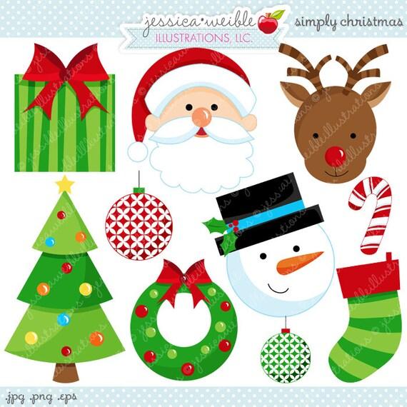 Cute Christmas Clip Art.Simply Christmas Cute Christmas Digital Clipart Commercial Use Ok Christmas Graphics Christmas Digital Art Christmas Clipart