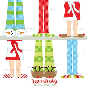 Cute Digital Clipart #532 Christmas Birds Gifts Illustration Instant Download Stacked Christmas Birds Clip Art Christmas Birds Clip art