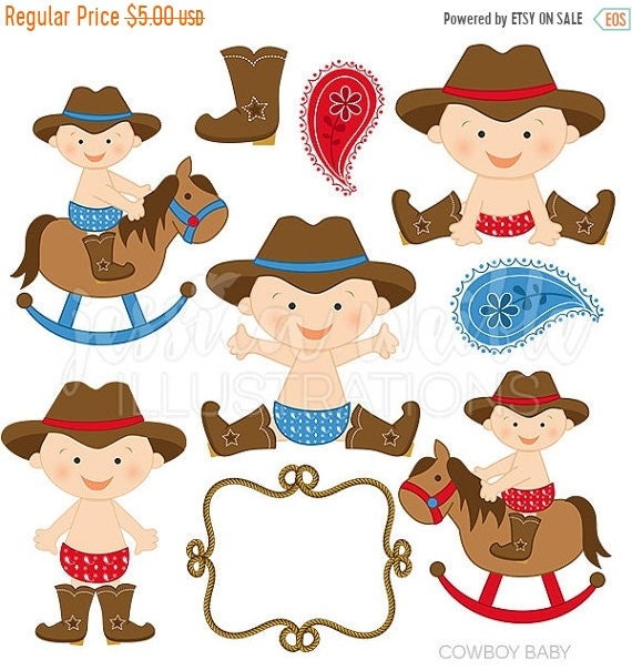 Cowboy clipart images on | Baby cowboy, Cowboy birthday, Little cowboy