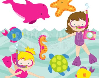 Water Toys Cute Clipart Summer Swimming Pool Toys Graphics