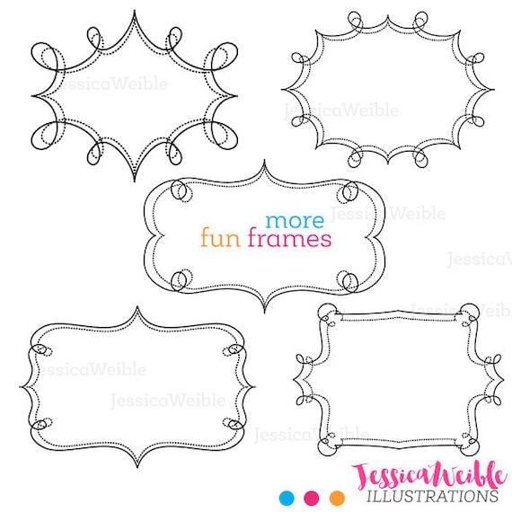 More Fun Frames   Cute Clipart   Swirl Frames   Transparent Frames ...