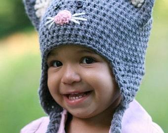 Kitten Cat Winter Hat sale