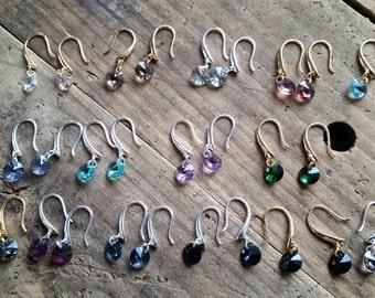 Swarovski Droplet Earrings