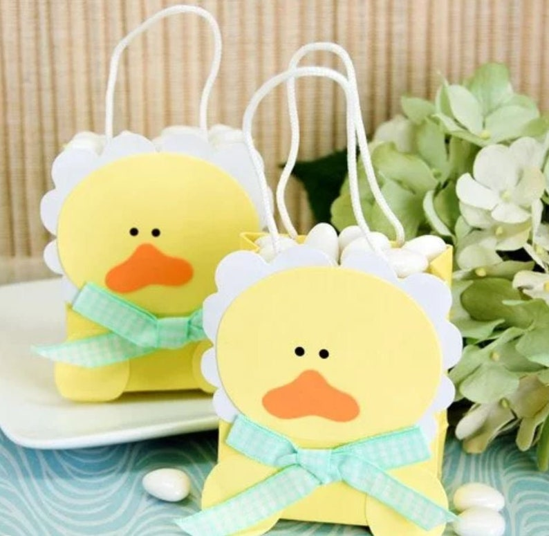 Set of 48 Duck Party Favor Bags Baby Shower Party Favor Eco Friendly