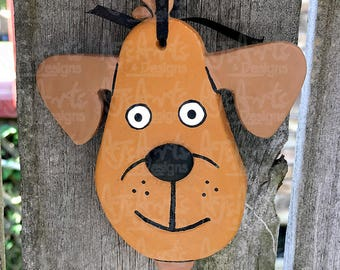 OOAK - Dog Ornament 50 Percent DONATED to Coastal Pet Rescue