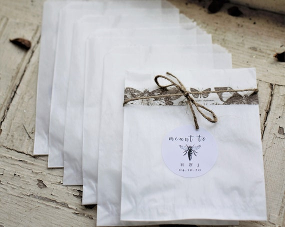 4 3/4 x 6 3/4 Glassine Bags set of 25     Wedding Favor Bags, Treat Bags, Business Card Envelopes