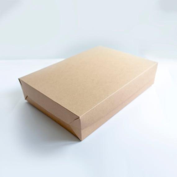 Set of 5- 19 x 14 x 4 EXTRA LARGE Kraft  Gift Box - 1 piece foldable box