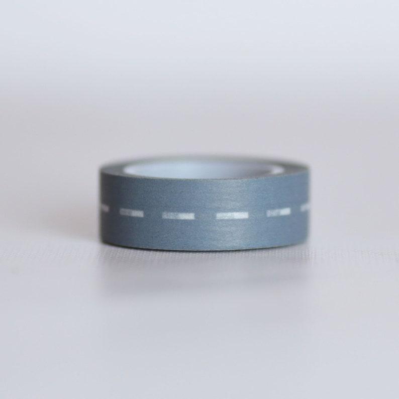 Highway Washi Tape Single Roll 10 mm