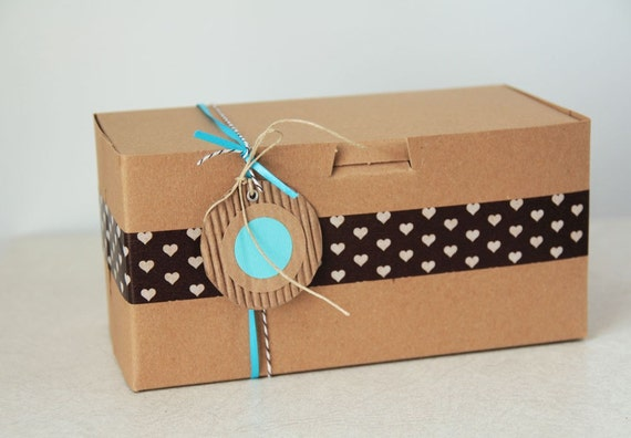 8 x 4 x 4  Kraft Cupcake or Gift Boxes set of 60