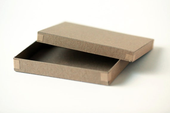 Set of 200  Recycled Kraft Photography Boxes  for 4x6  prints