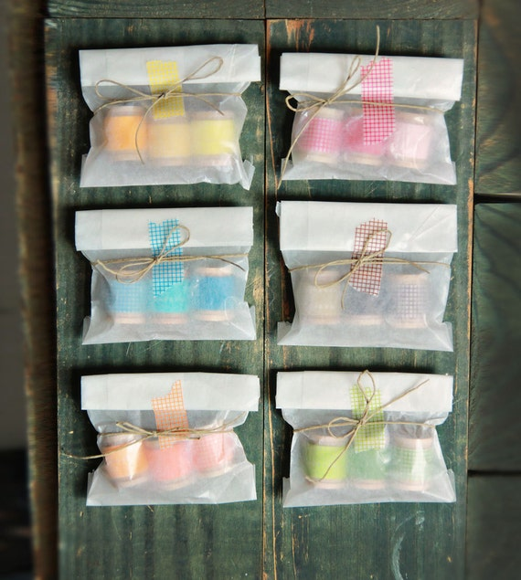 Washi Tape Trio Party Favors Set of 12
