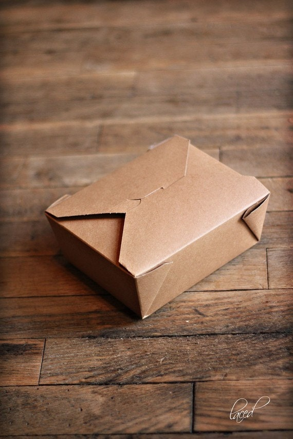 Set of 12 Large Bio-Plus Earth Boxes, Microwavable Take Out boxes, Wedding Buffet Boxes, Eco Friendly Bakery Containers, Rustic Wedding Box