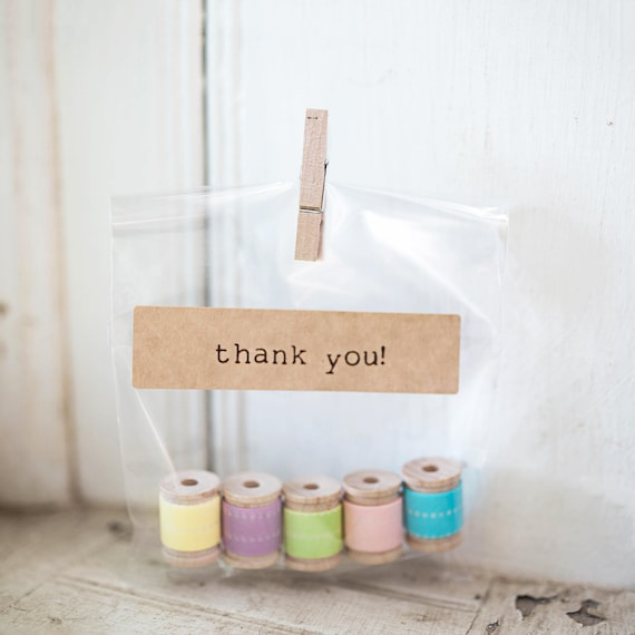 Clear Cello Bags set of 100- resealable |  Perfect for our Wedding Soap Favors