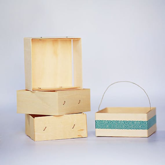 50 - 1/2 Pint Sized Wooden Berry Boxes