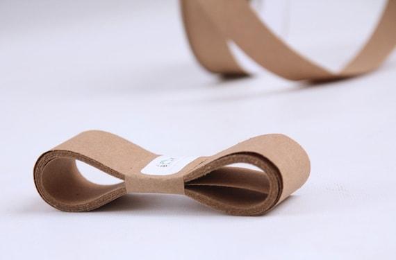 KRAFT 100 Percent Recycled Paper Ribbon 15 Yards