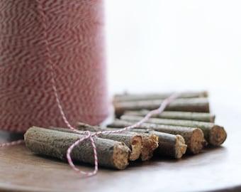 Woodland Twig Spools  Lot of 10  | Home & Garden Supply | Decorative Spools | Wedding Decor | Rustic Home Decor | Rustic Wedding