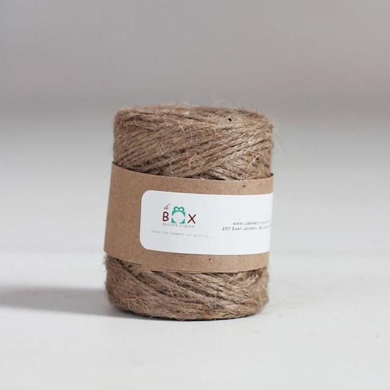2 Rolls-   Jute Twine 65 yards per roll  | Home & Garden Supply | Decorative Twine | Wedding Decor | Rustic Home Decor | Rustic Wedding