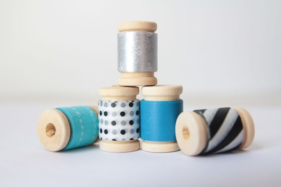 1950s Style Japanese Washi Tape Assortment     Birthday Party Decor, Baby Shower Decor, Party Favors, New Years Favors