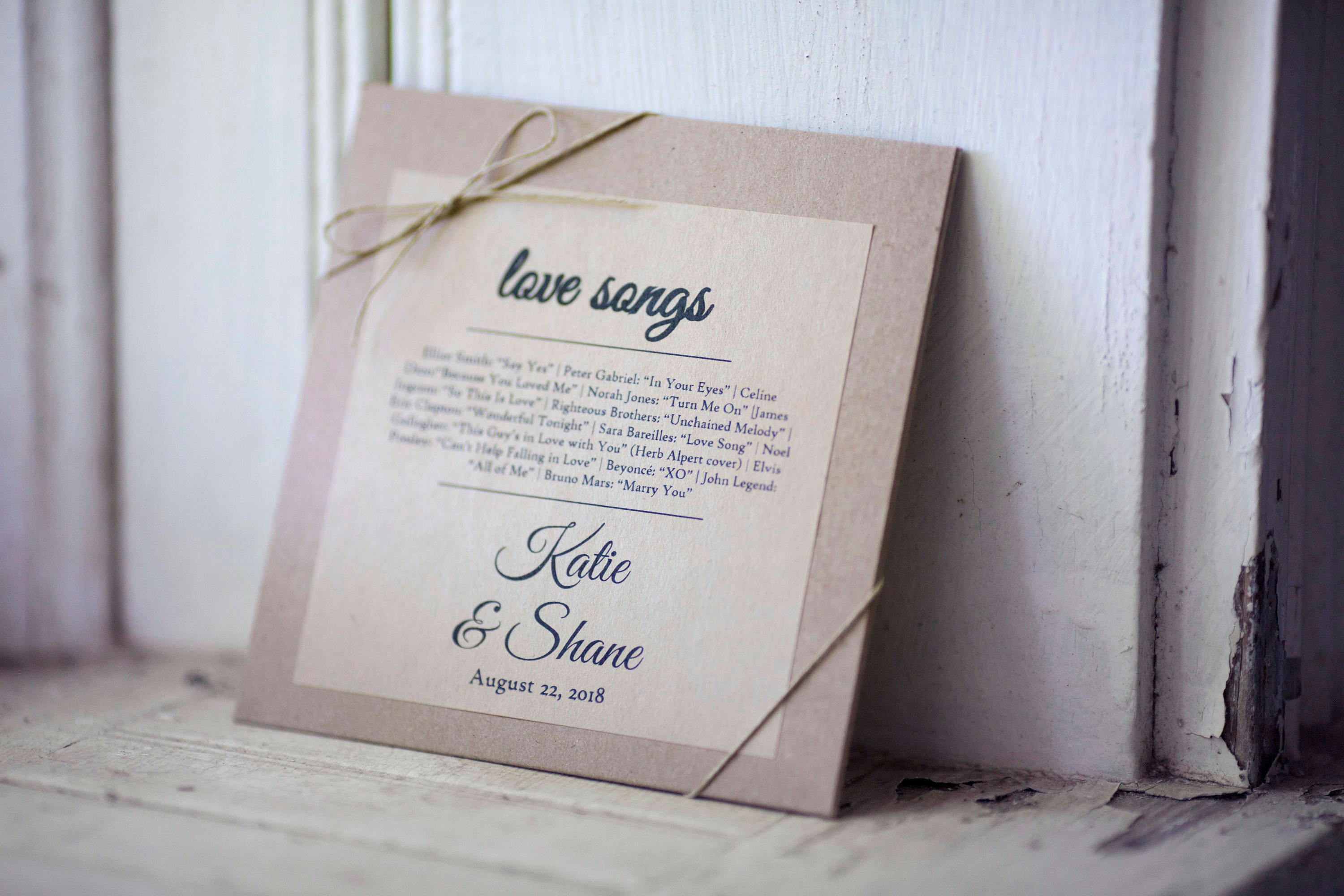 Kraft Stickers for CD sleeves- 4in x 4 in- Set of 48 || Wedding ...