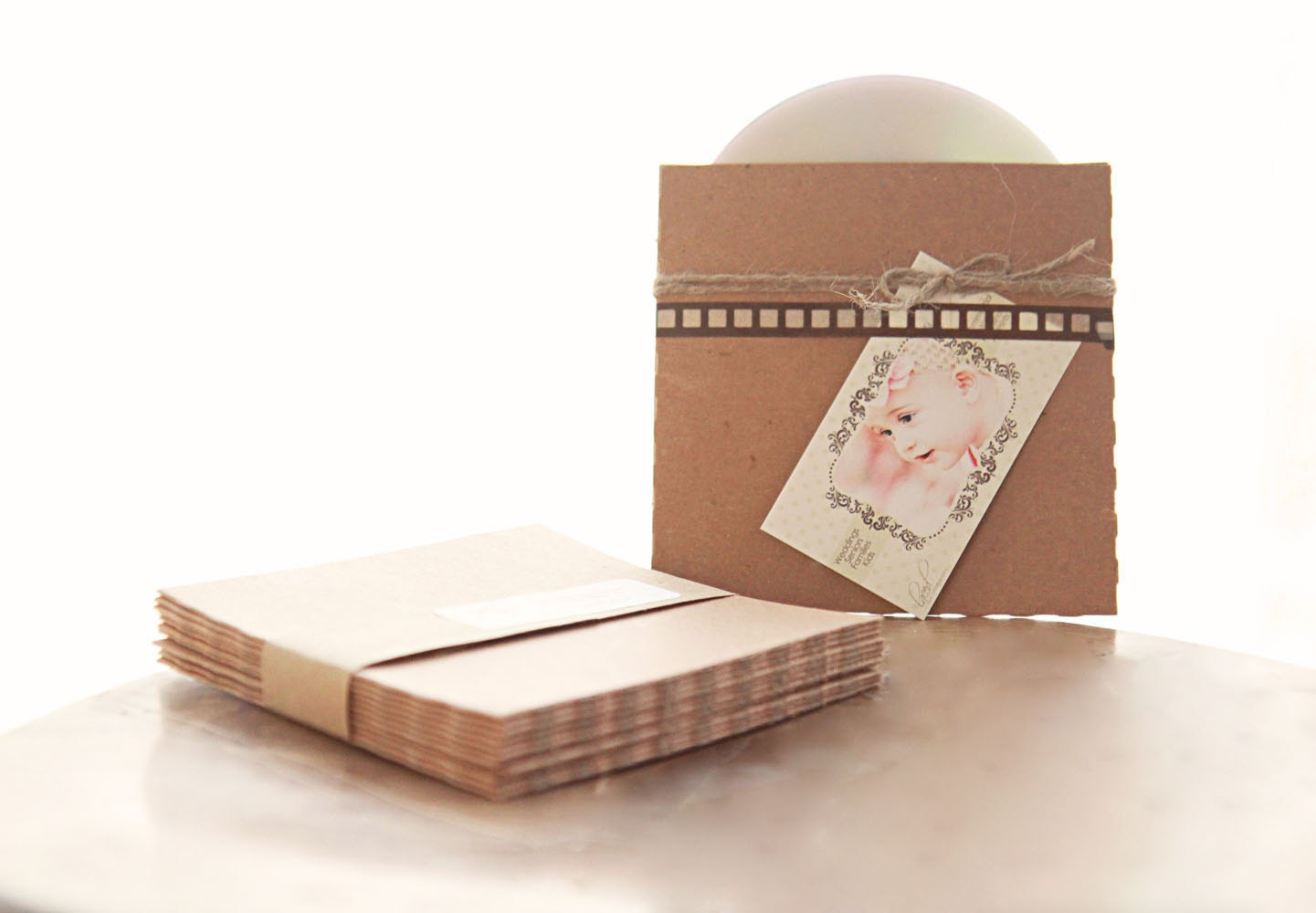 Recycled Kraft Cd Sleeves Set Of 20 Great For Photography Etsy