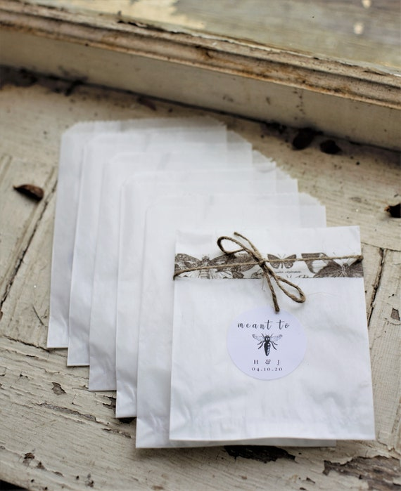 Business Card Envelopes Priority Flat Rate shipping 3 14  x 4 58  Glassine Bags set of 500 Wedding Favor Bags Treat Bags