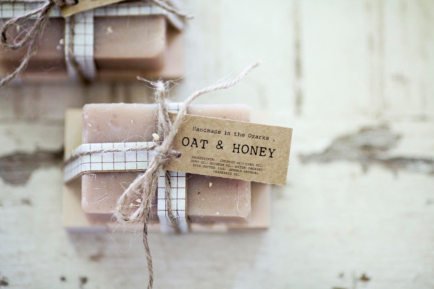 OAT & HONEY Soap | Oatmeal, Cream, Honey Soap Bar, Moisturizing Soap ...