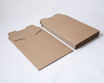 "17"" x 21"" - Kraft Flat Mailers - Set of 5 - large print mailer, print presentation, large photography print box, photo envelope, portfolio"
