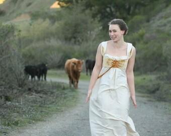 Jane austen wedding dress   Etsy