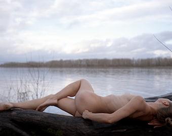 Fine Art Nude Print | Nude Wall Art | Model Print | Nude Photographic Print | Color Photo | Erotica Wall Art | Sensual Art