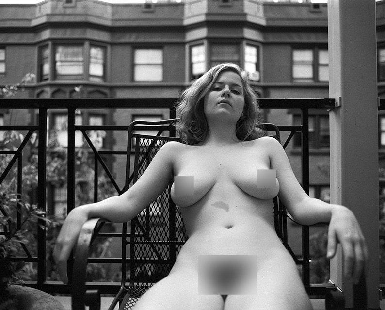 Fine Art Nude Print  Nude Wall Art  Model Print  Nude image 0