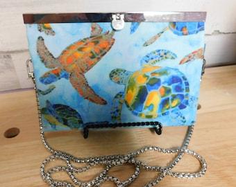 Sea Turtle Wallet/Crossbody Purse