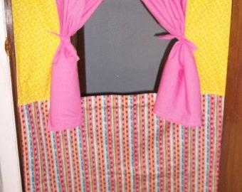 Doorway  Puppet Theater Curtain