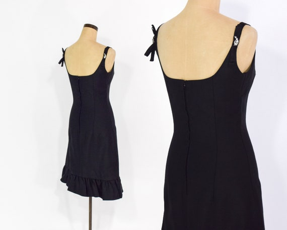 60s Little Black Dress | Saks Fifth Avenue Party Dress | Audrey Hepburn Dress, Extra Small