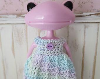 Wonderfrog Crochet Rainbow Dress