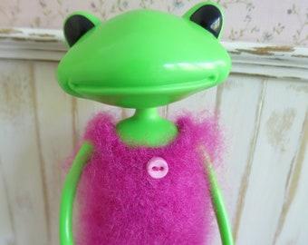 Fluffy Wonderfrog Crochet Romper